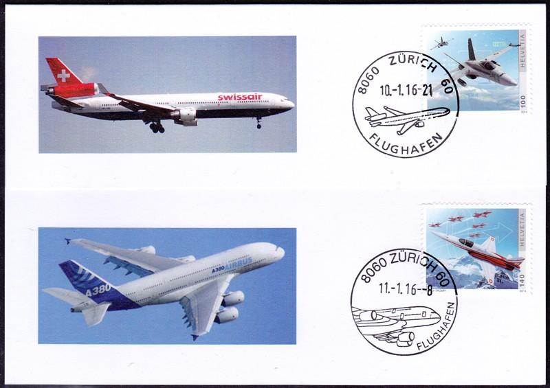 Neuer Werbedatumstempel Flughafen Zürich Faltka10