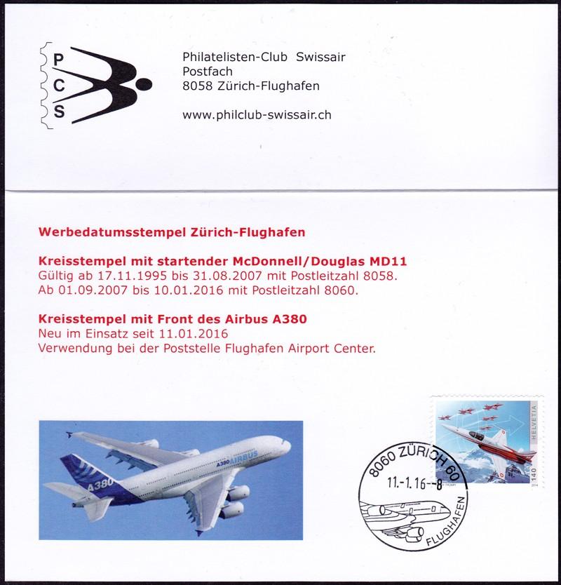 Neuer Werbedatumstempel Flughafen Zürich Faltka11