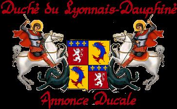 LES ANNONCES DUCALES DU LYONNAIS-DAUPHINE - Page 17 Armes_11