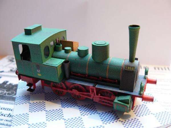 Tenderlokomotive T 3 der KPEV 1:87 MONIKART P1020910