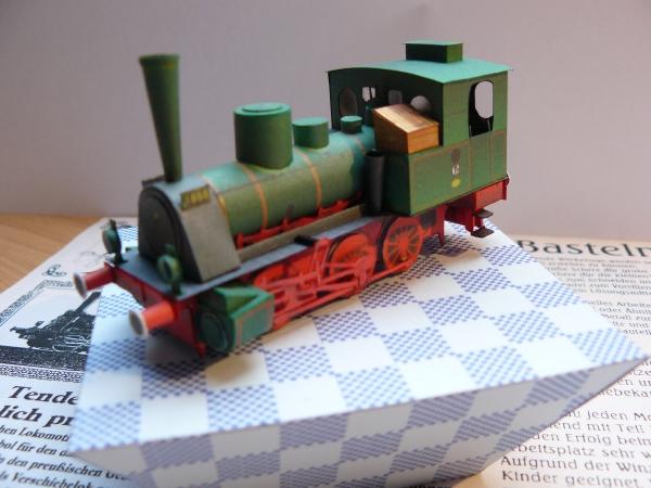 Tenderlokomotive T 3 der KPEV 1:87 MONIKART P1020911