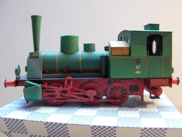 Tenderlokomotive T 3 der KPEV 1:87 MONIKART P1020916