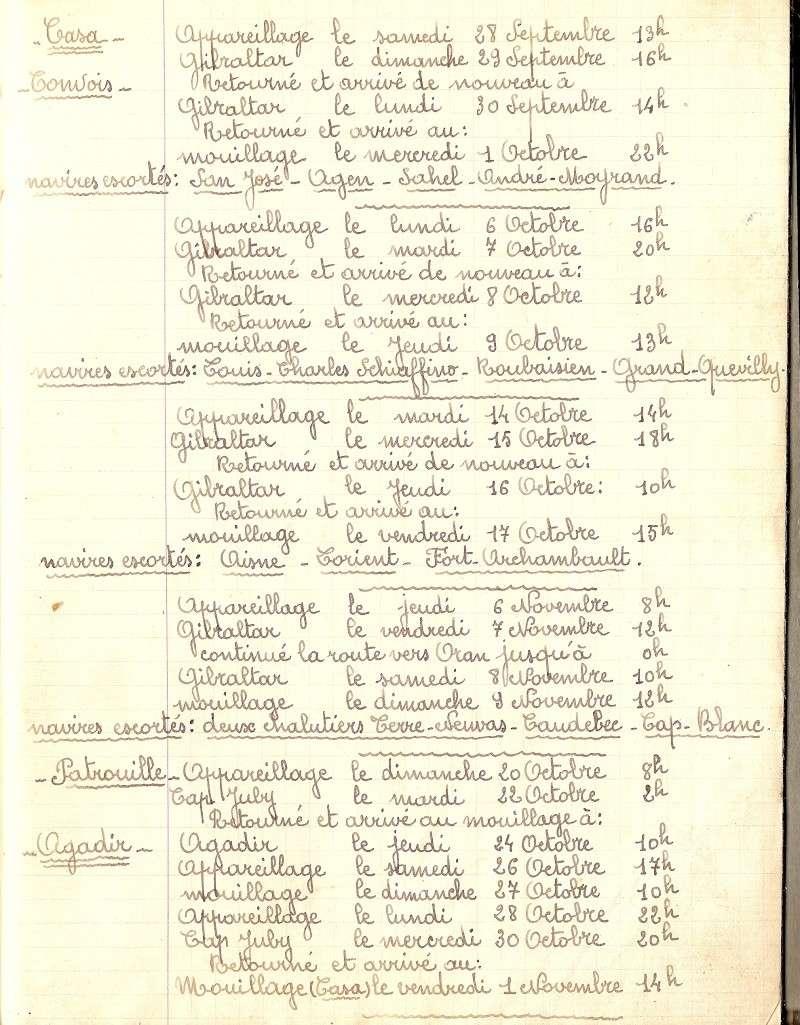 Les chalutiers armés pendant la seconde guerre mondiale Convoi11
