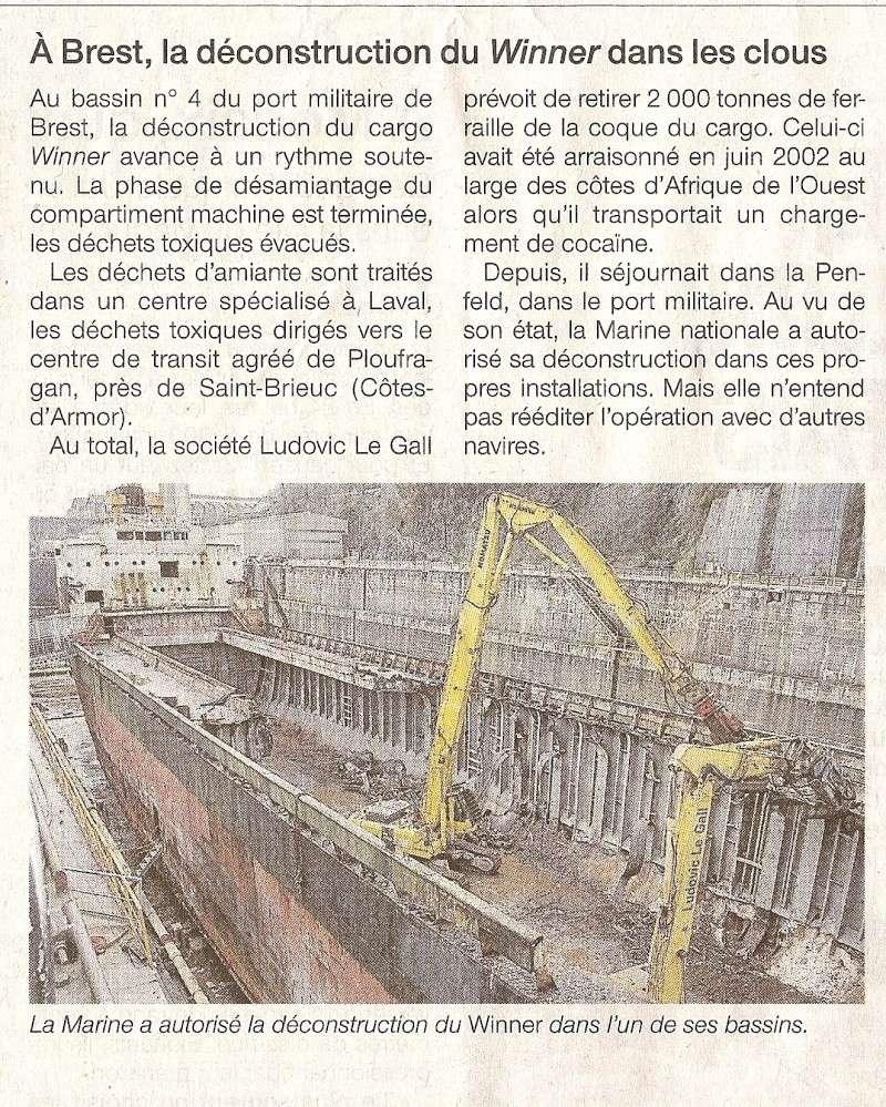 [Les ports militaires de métropole] Port de Brest - TOME 1 - Page 20 Numar110