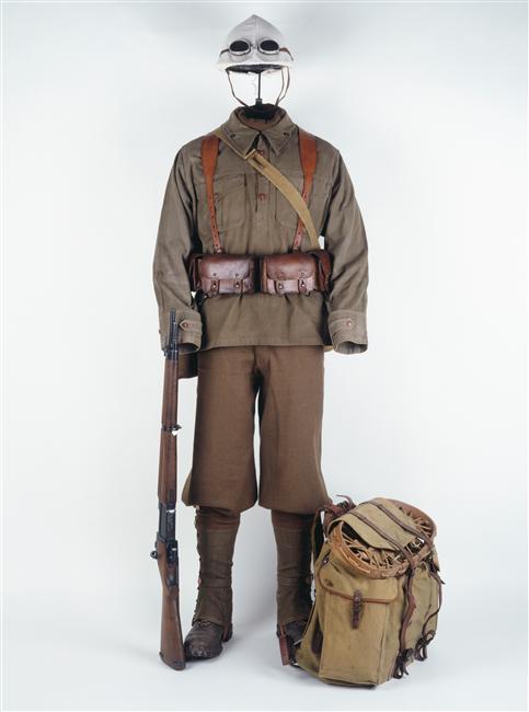 La tenue de chasseur alpin 09-54210