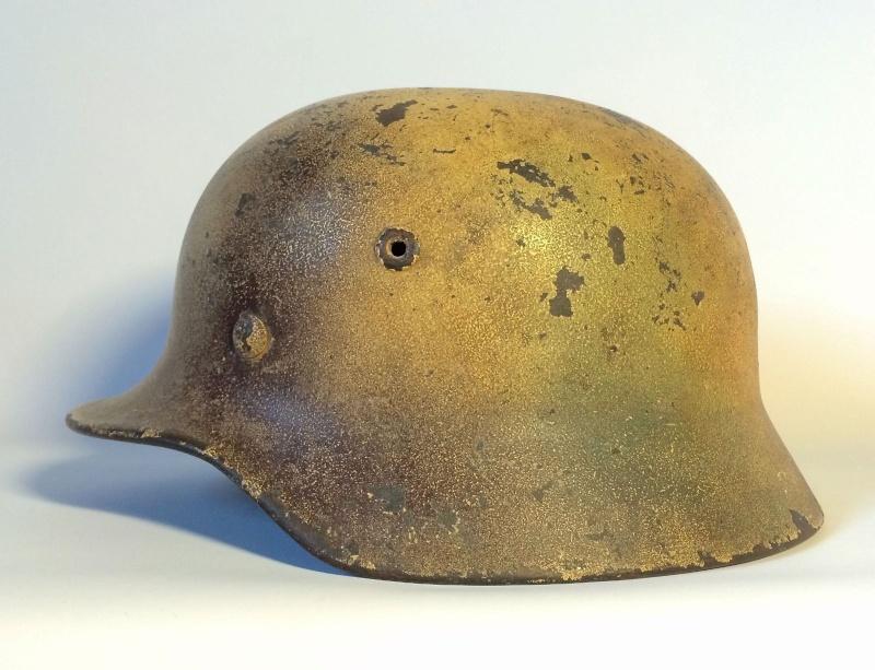 Avis sur ce casque allemand camouflé. 111