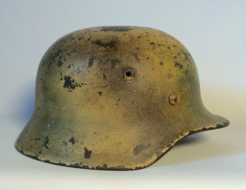 Avis sur ce casque allemand camouflé. 210