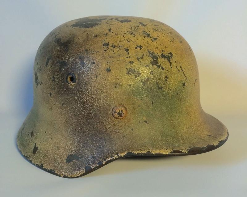 Avis sur ce casque allemand camouflé. 310