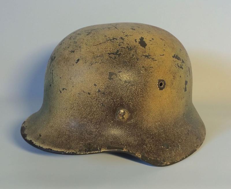 Avis sur ce casque allemand camouflé. 410