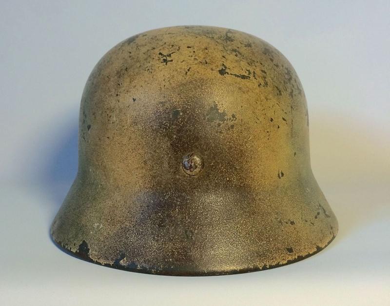 Avis sur ce casque allemand camouflé. 510
