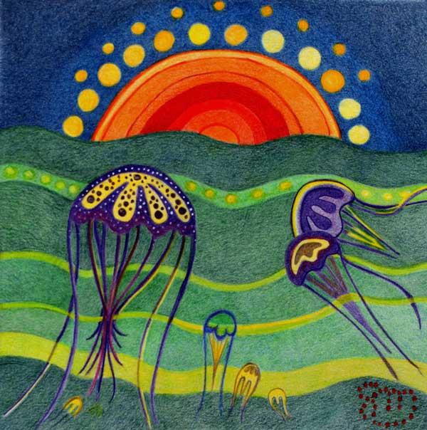 Les méduses Les-my10
