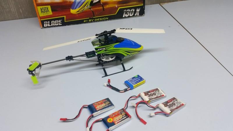 [Vendu] Helicoptère BLADE 130X 130x110
