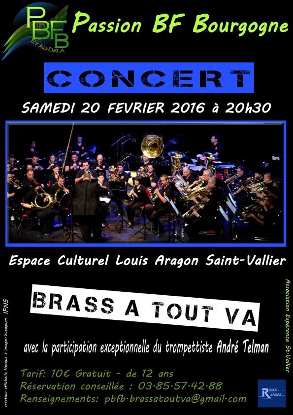 Concert : Passion BF Bourgogne reçoit André Telman le 20 samedi février  Affich10
