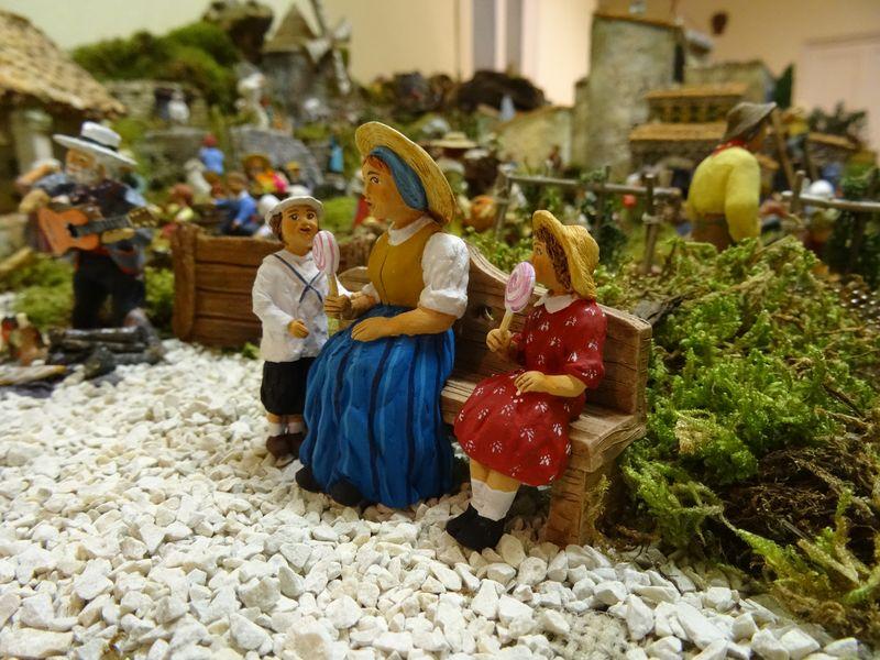 La crèche du curé de Saint Saturnin 2015 Dsc08943