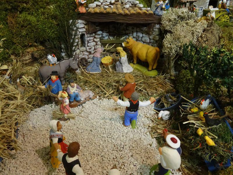 La crèche du curé de Saint Saturnin 2015 Dsc08946