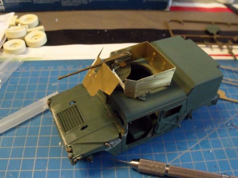 M 998 Desert Patrol au 1/35 Italeri M9981610