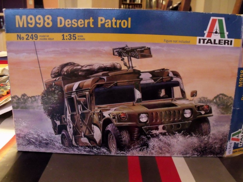 M 998 Desert Patrol au 1/35 Italeri M_998010
