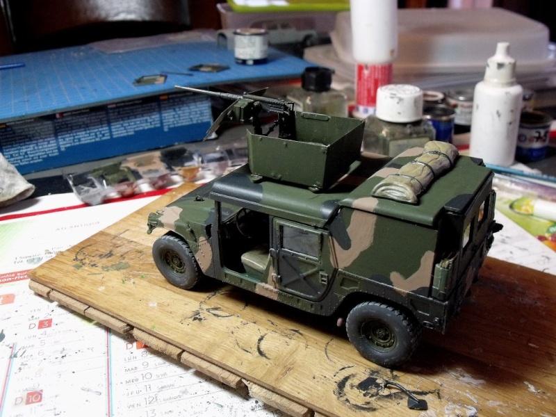 M 998 Desert Patrol au 1/35 Italeri M_998213
