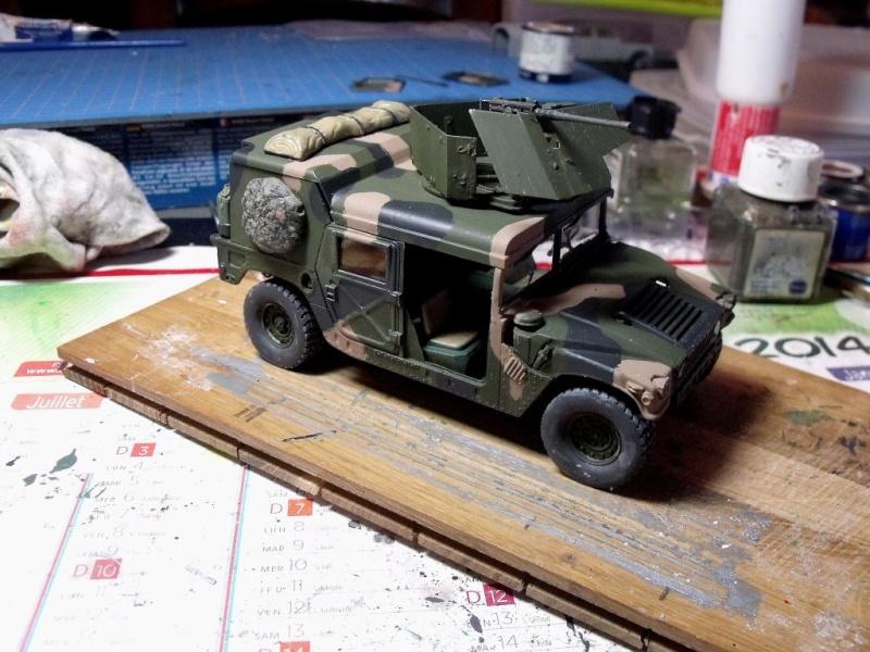 M 998 Desert Patrol au 1/35 Italeri M_998214