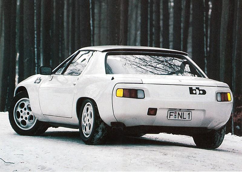 Les Porsche spéciales 928_ta13