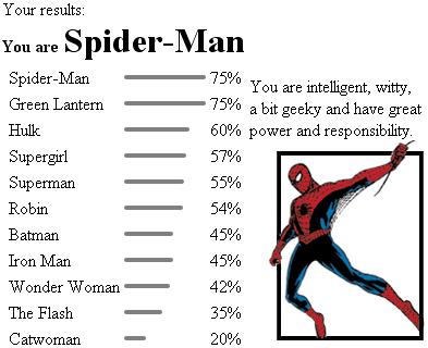 Quel super héro êtes-vous ? Hero10