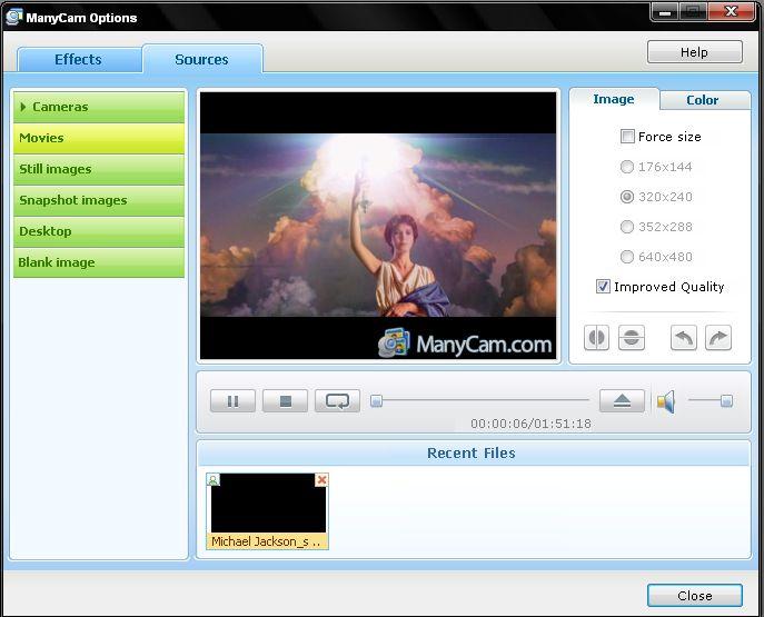Diffuser des vidéos dans la cam du chat [Astuces du forum] Presse20