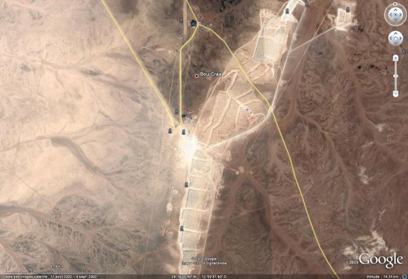 100 Km de long : le plus grand tapis roulant (convoyeur) du monde ! - Sahara occidental Boucra10