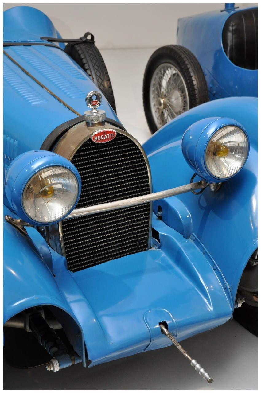 Mulhouse: La Cité de l' automobile, the largest car museum in the world. Bugatt14