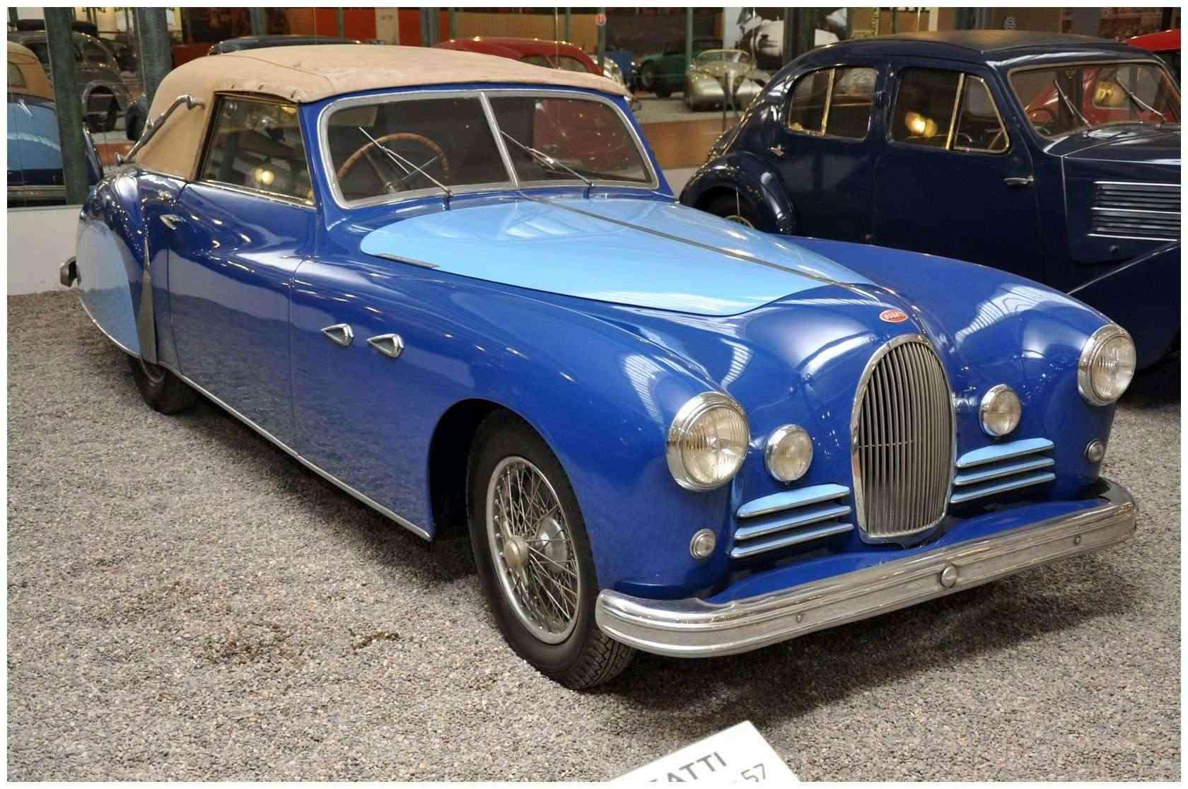 Mulhouse: La Cité de l' automobile, the largest car museum in the world. Bugatt18