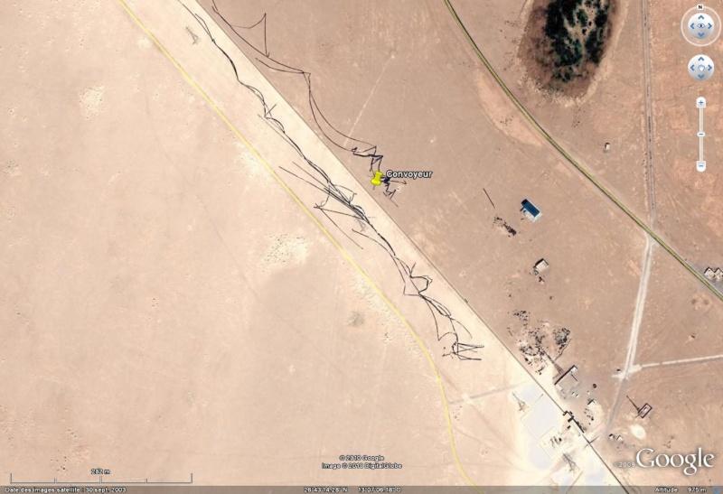 100 Km de long : le plus grand tapis roulant (convoyeur) du monde ! - Sahara occidental Convoy11