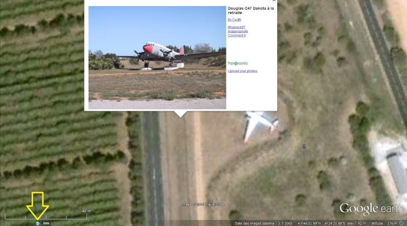 STREET VIEW : Les avions - Page 7 Dakota10
