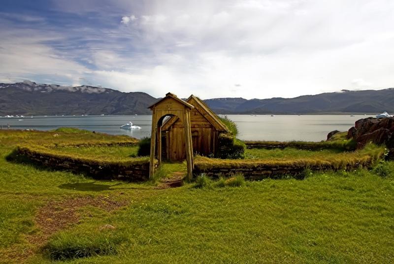 Traversée d'Qassiarsuk vers Narsarsuaq, Kujalleq au Groenland. Erik2_10