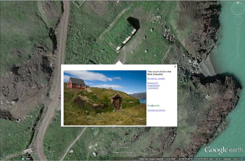 Traversée d'Qassiarsuk vers Narsarsuaq, Kujalleq au Groenland. Erik_c10