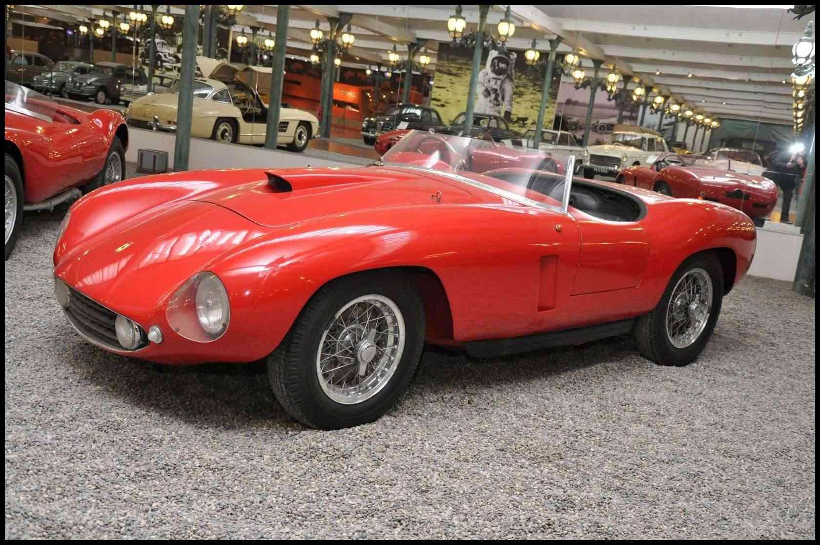 Mulhouse: La Cité de l' automobile, the largest car museum in the world. Ferrar10