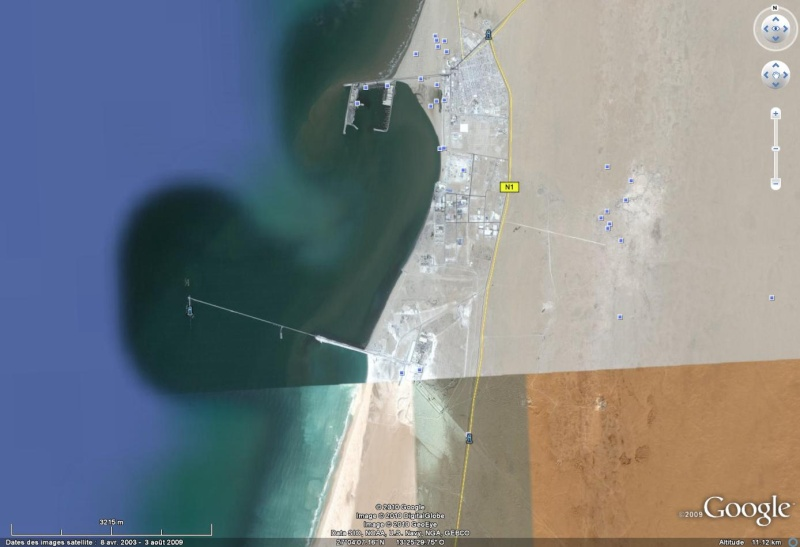 100 Km de long : le plus grand tapis roulant (convoyeur) du monde ! - Sahara occidental Laayou10