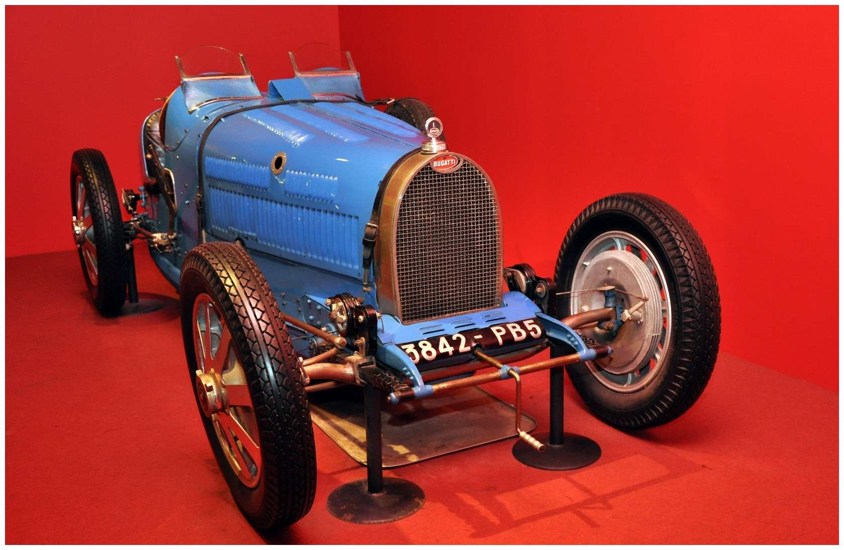 Mulhouse: La Cité de l' automobile, the largest car museum in the world. Type_310