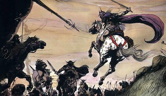"""Ilustraciones de """"Espada y Brujería"""" (NO Conan) - Page 2 Yoshit10"""