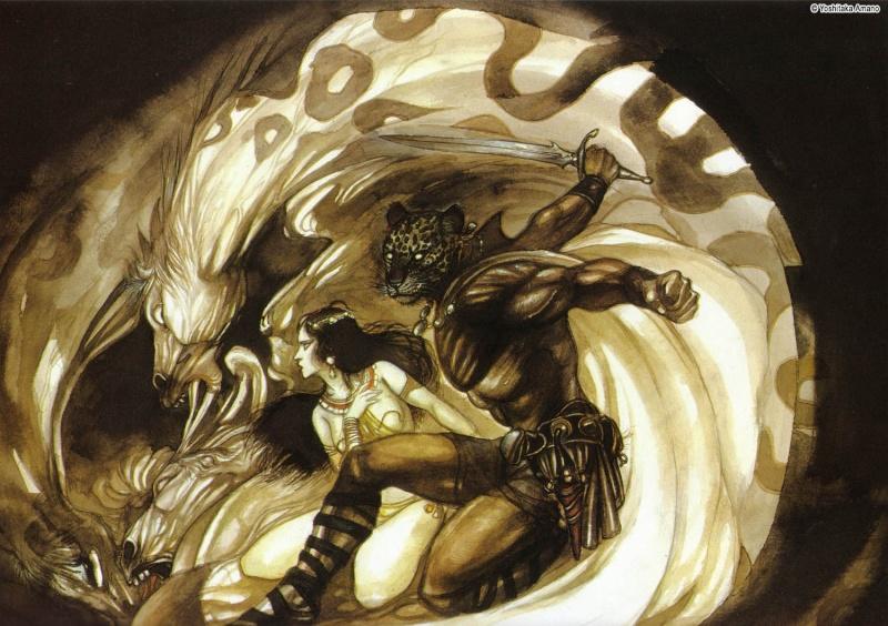 """Ilustraciones de """"Espada y Brujería"""" (NO Conan) - Page 2 Yoshit11"""