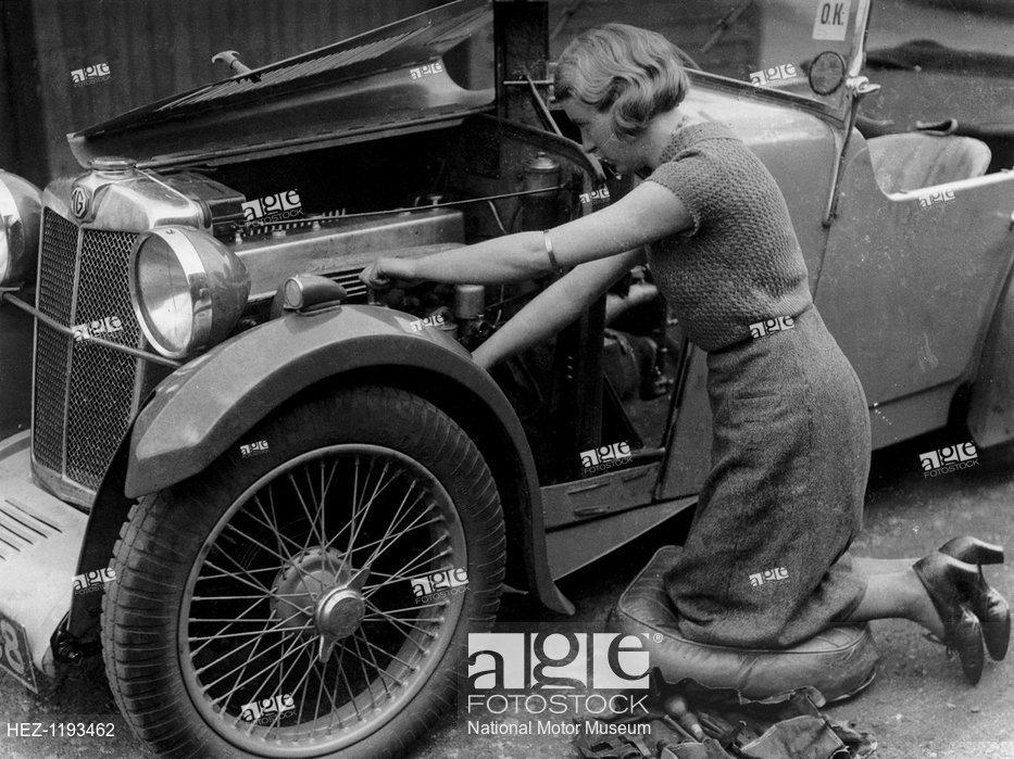 """MG """"MMM"""" Midget Magna Magnette - Morris Garage Hez-1111"""