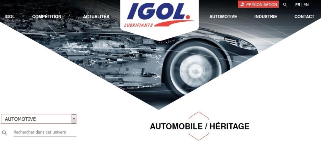 Huiles, lubrification, liquides, remplissage des fluides des organes mécaniques pour anciennes Igol_110