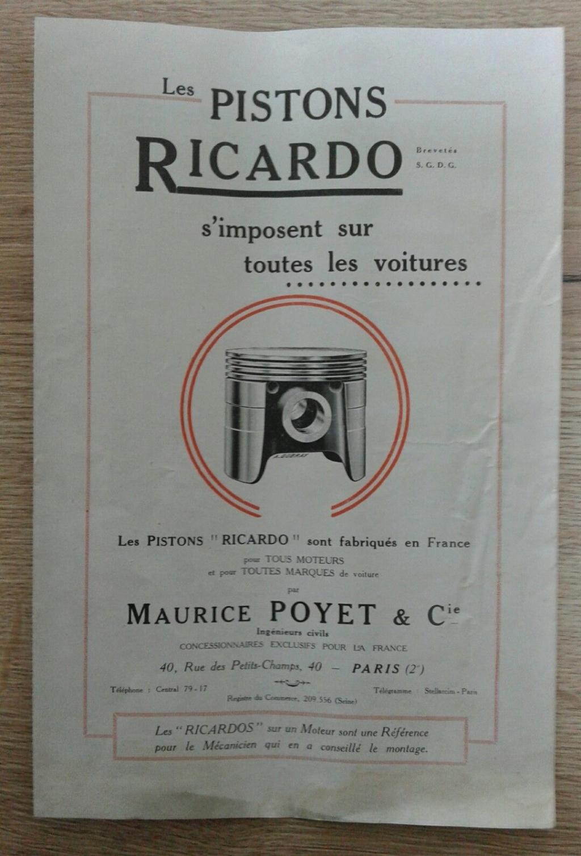 Moteur de cyclecar et voiturette - Page 8 Ricard10