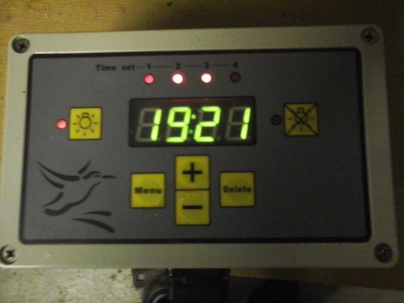 Dimmer, éclairage automatique  20160210