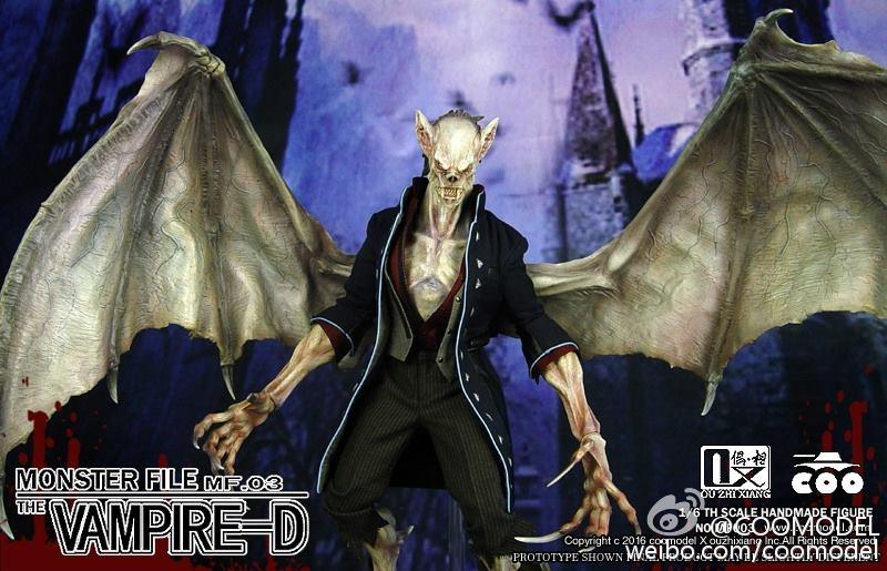 COOMODEL X OUZHIXIANG - Monster File Series N°003 - Vampire-D 10603410
