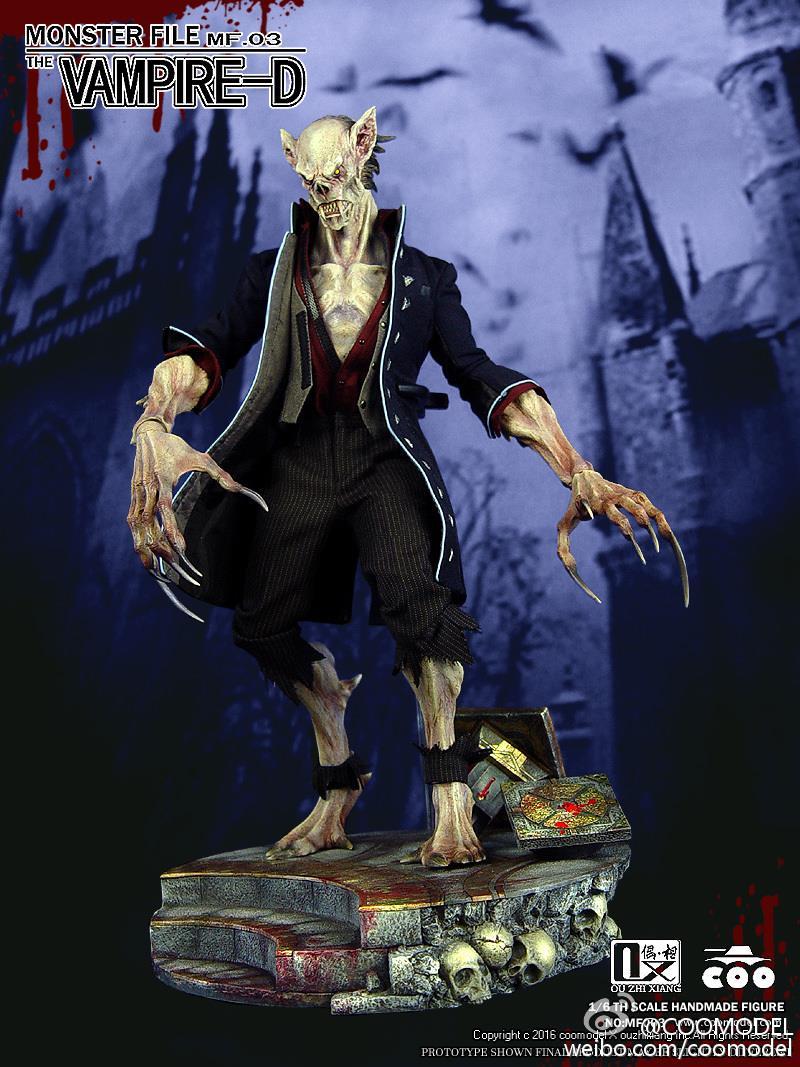 COOMODEL X OUZHIXIANG - Monster File Series N°003 - Vampire-D 12402111