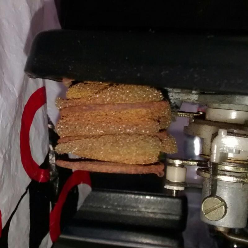 Restauro molle e materiale smorzante Garrard Zero 100 SB Img_2012