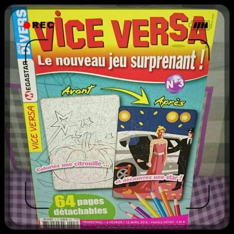 Vice versa : un nouveau magazine de coloriage mystère 12650910