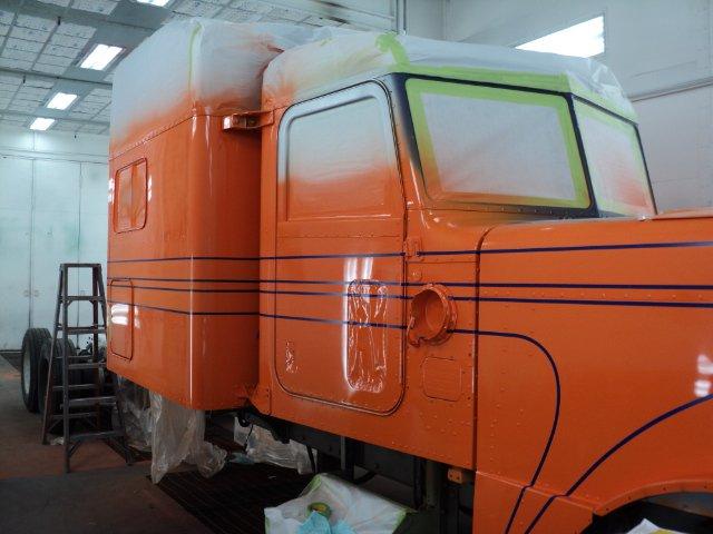 peterbilt 389  custom de Vinnie Dorio 19750910