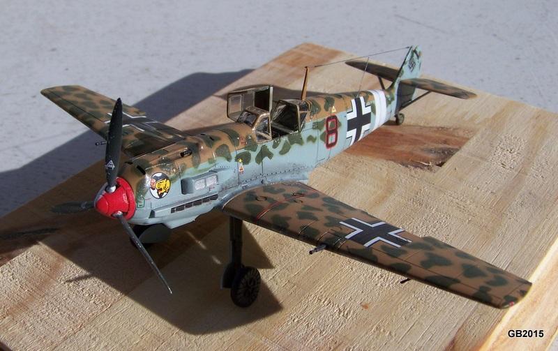 [AIRFIX] Messerschmitt Bf109 E-7 Trop - JG27 100_1910