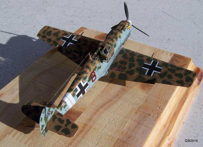 [AIRFIX] Messerschmitt Bf109 E-7 Trop - JG27 100_1911