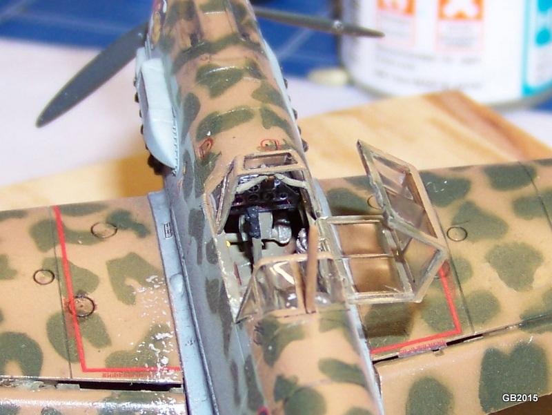 [AIRFIX] Messerschmitt Bf109 E-7 Trop - JG27 100_1912